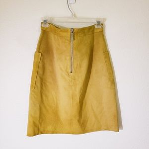 Topshop Skirts - Topshop Unique Angie  Genuine Suede Skirt